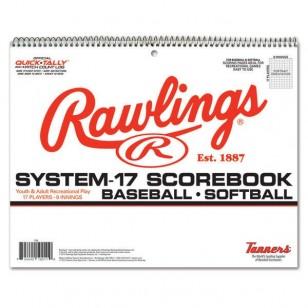 Rawlings Baseball Scorebook