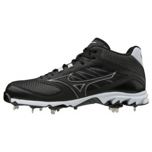 Mizuno 9-Spike Dominant 2 Mid-Cut Baseball Cleat