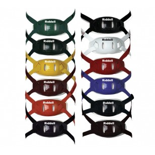 Riddell 360 Color-on-Color Hard Cup Chin Straps