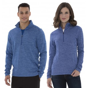 ATC Dynamic Heather Fleece 1/2 Zip