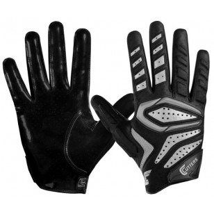 Cutters Gamer 2.0 Padded Receiver Football Glove