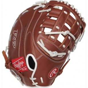 Rawlings R9 Series 12.5 in Fastpitch 1st Base Mitt