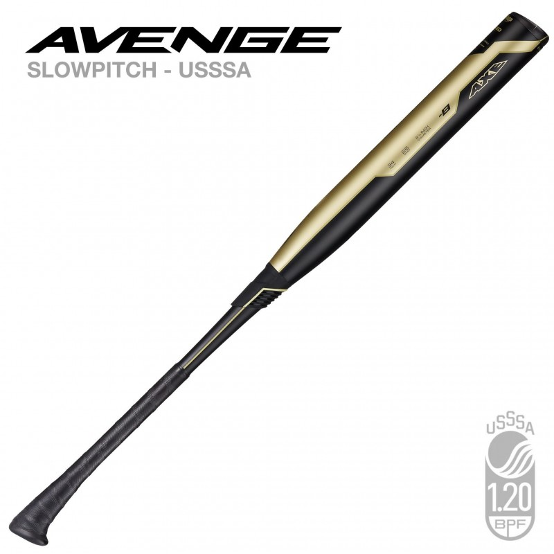 AXE Bat 2019 AVENGE USSSA SLOWPITCH SOFTBALL BAT - BALANCED